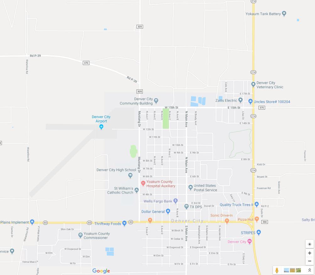 Denver Airport Drivers Get Stuck in Mud Using Google Maps ... on denver on map, denver maps by neighborhood, denver art museum map, denver city street map,