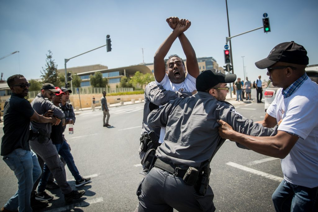 ethiopians protest