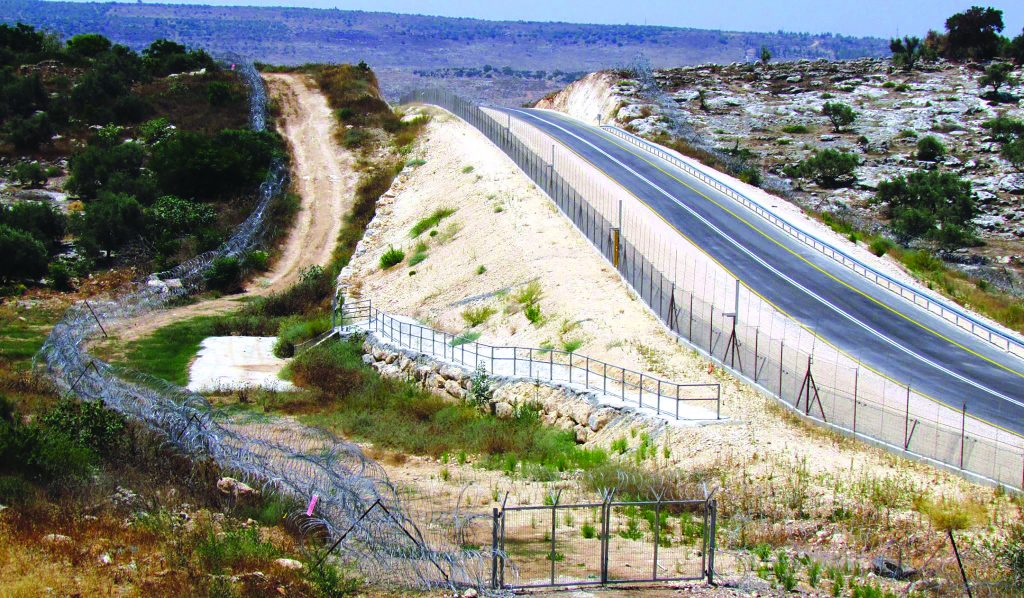 israel barrier