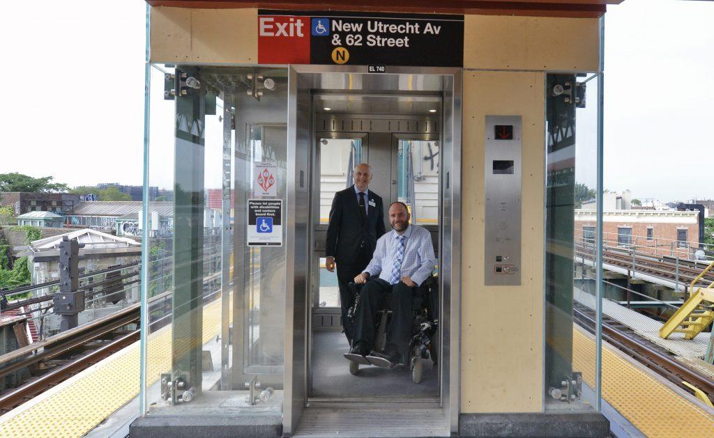 mta elevators