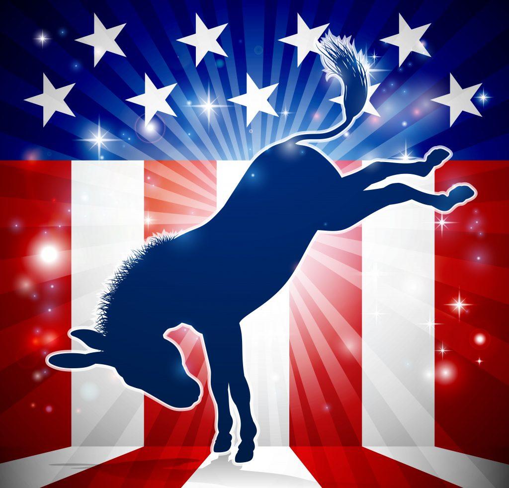 democrats, donkey, progressive democrats