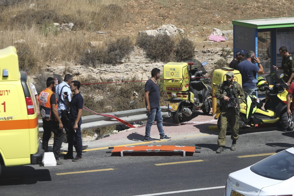 palestinian car ramming