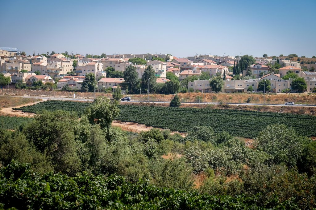 yehudah and shomron, west bank