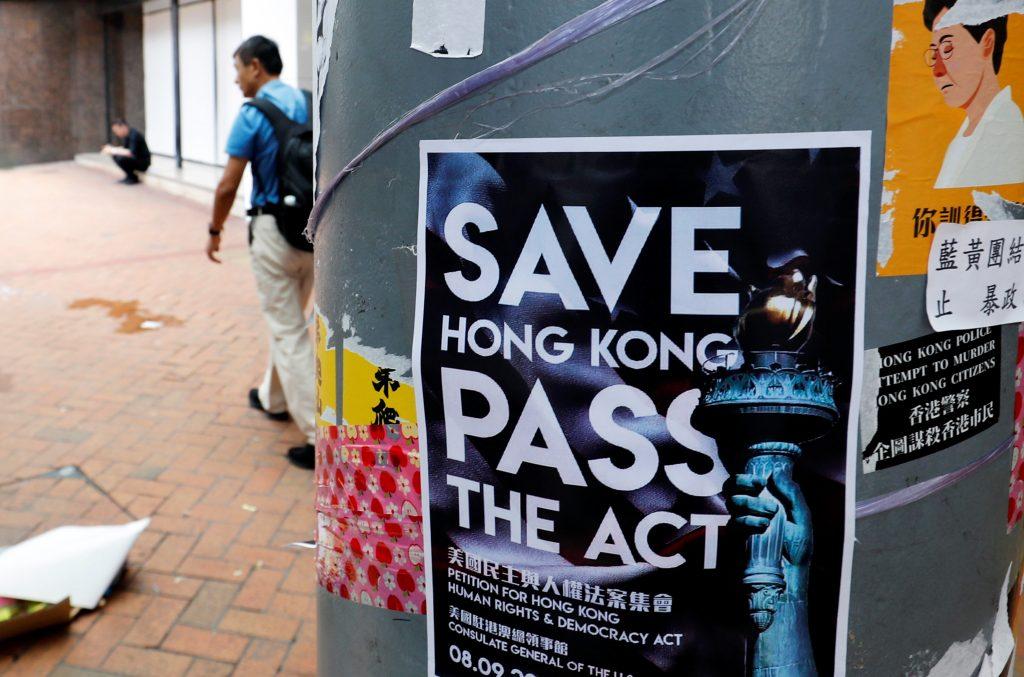Hong Kong Leader Says Bill Withdrawal A First Step As City