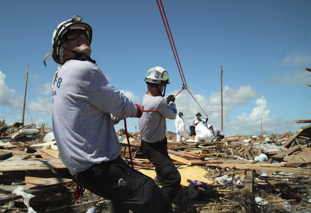 bahamas death toll