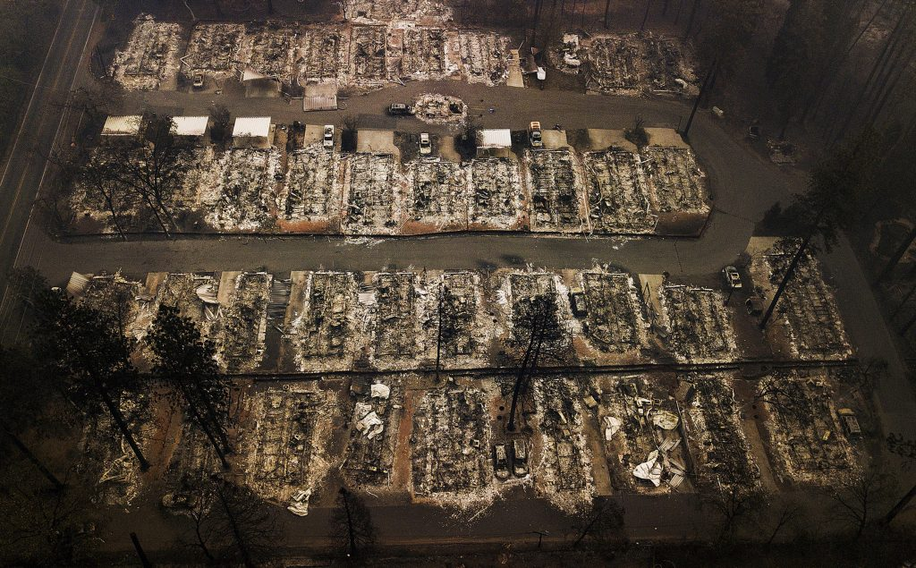 california wildfires, pg&e settlement