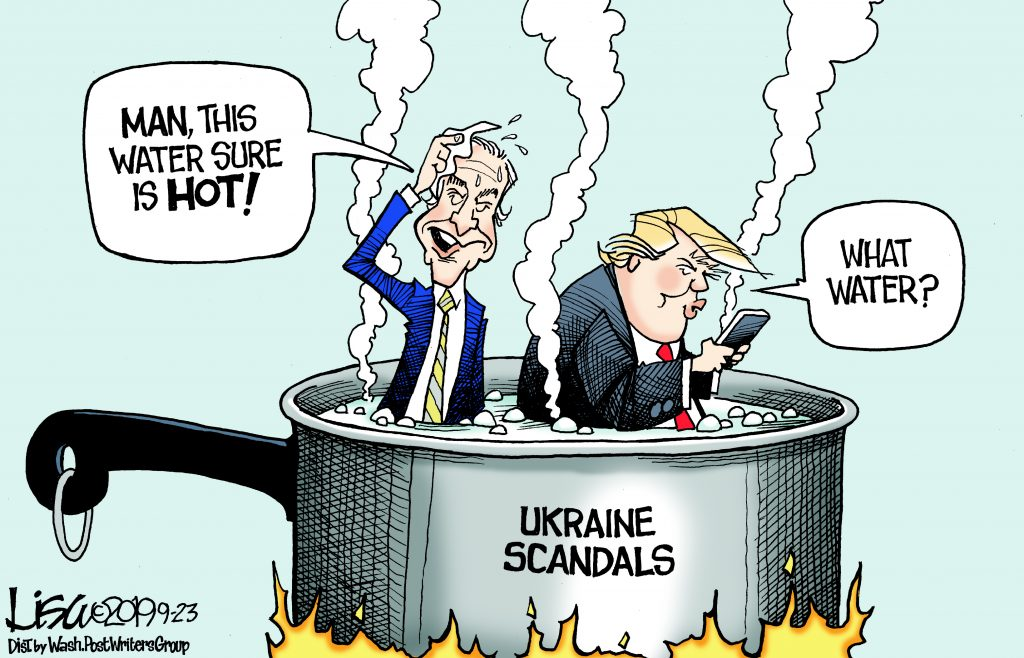 Editorial Cartoon September 24 2019 Hamodia Jewish And Israel News