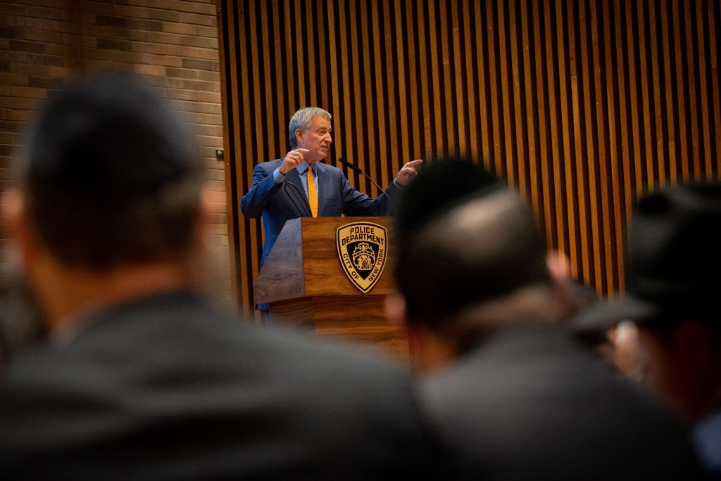 nypd briefing