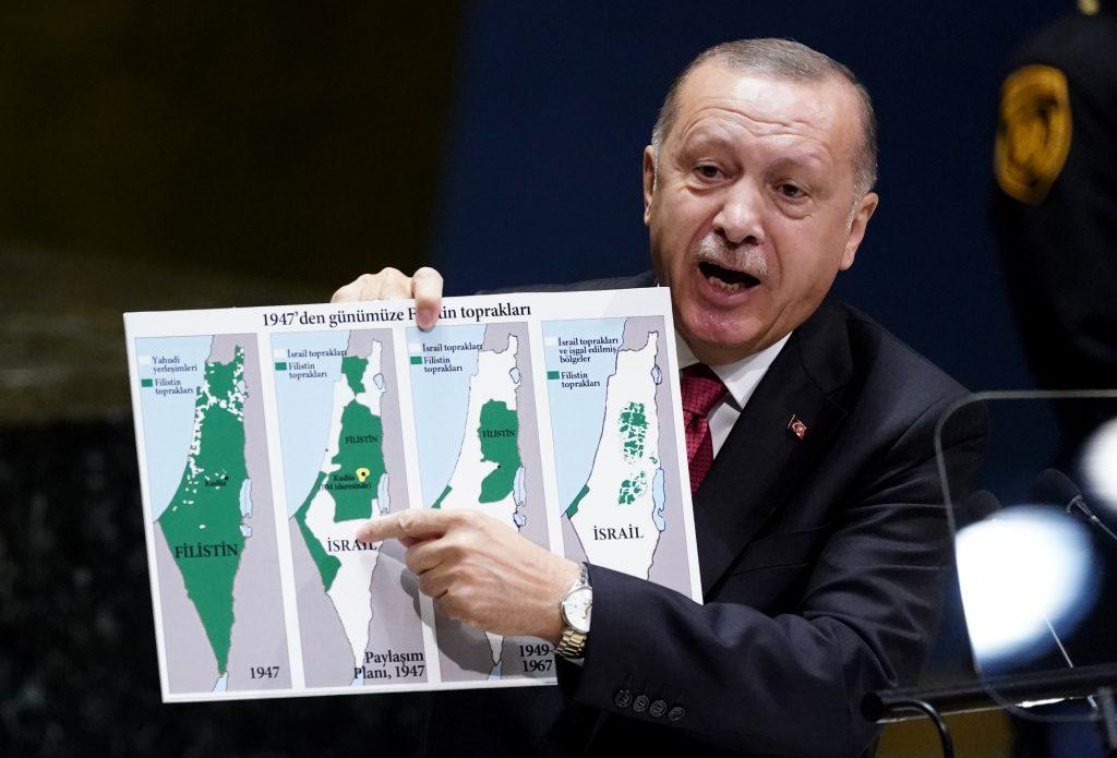 erdogan israel