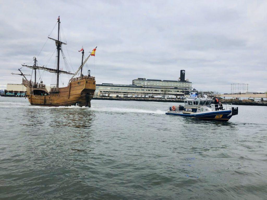 pirate ship new york