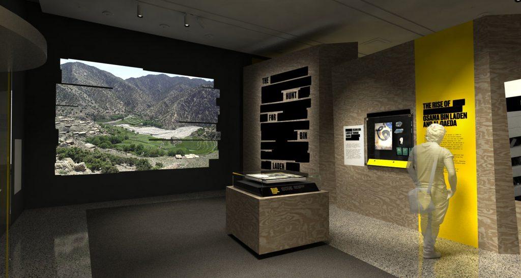 bin laden exhibit