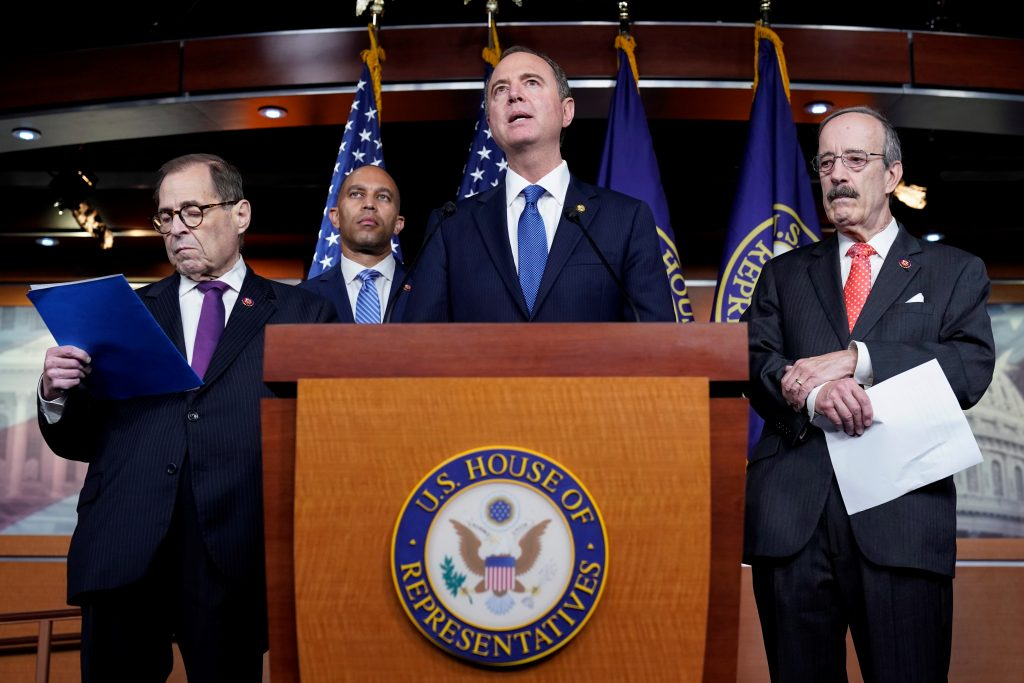 democrats trump impeachment