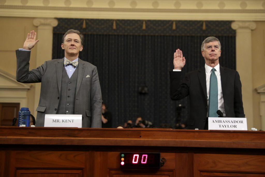 trump impeachment hearings