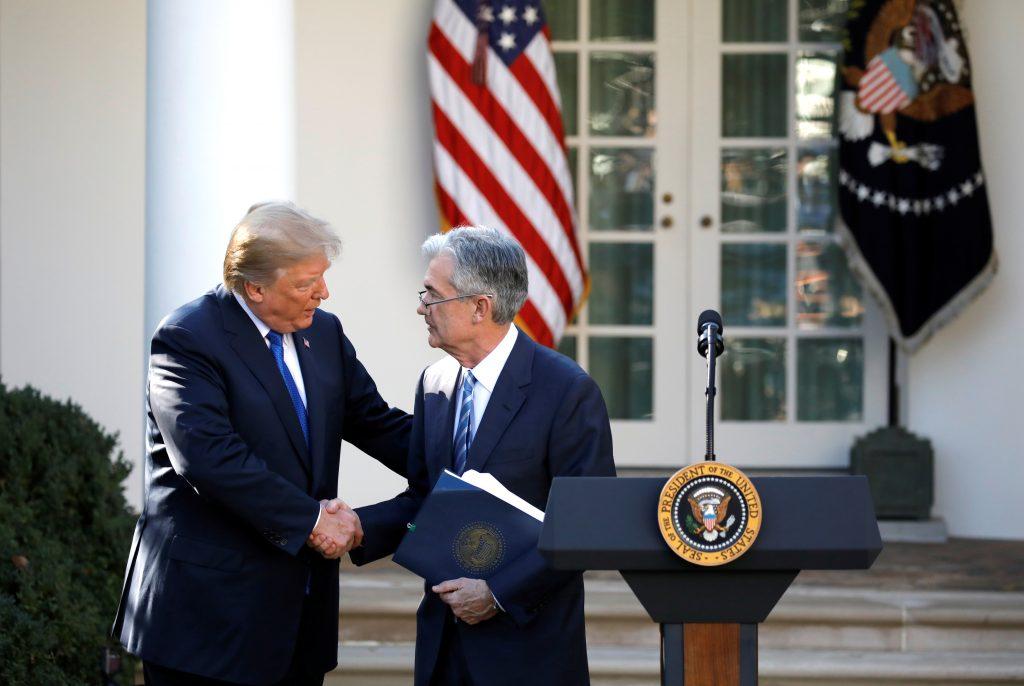 trump powell interest rates