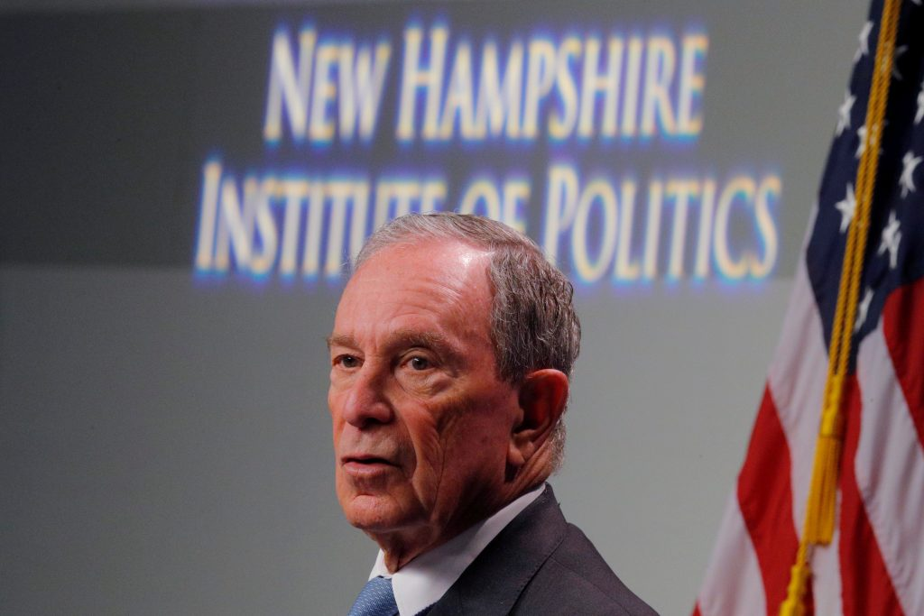 bloomberg presidential candidate