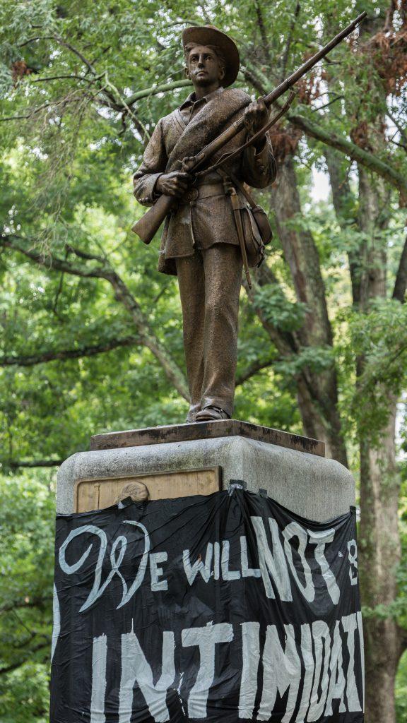 confederate statue unc