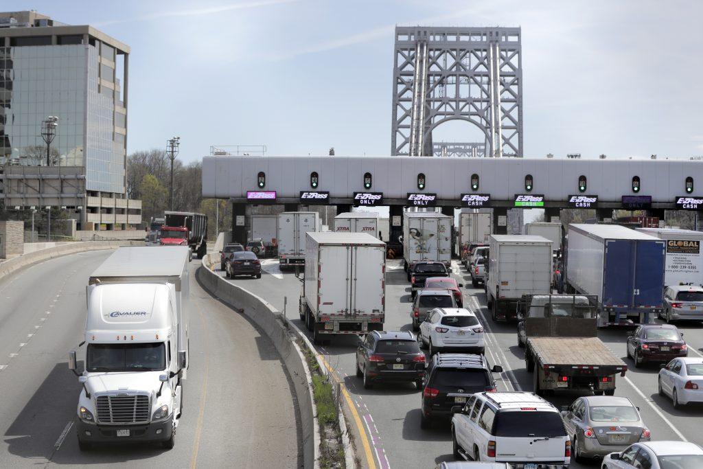 port authority toll, george washington bridge toll