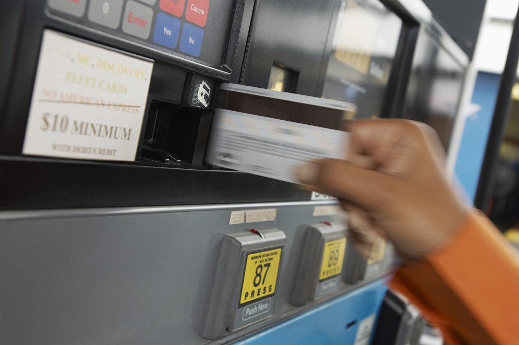 credit cards gas stations