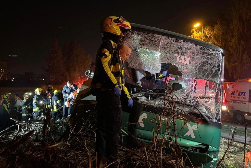 israel bus crash