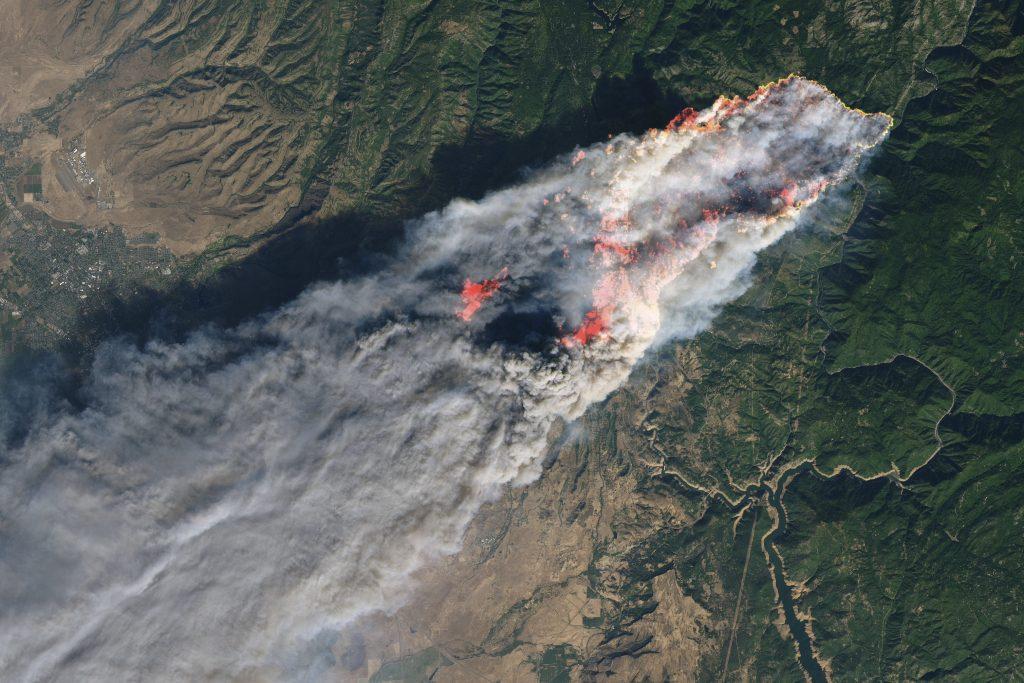 camp fire california