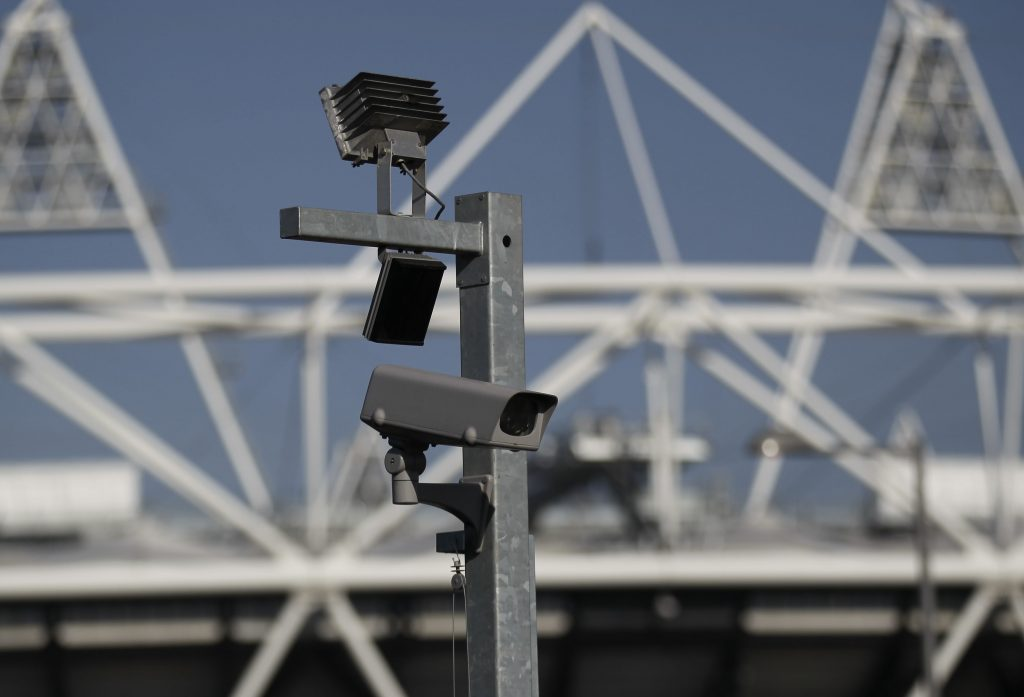 london police facial recognition cameras