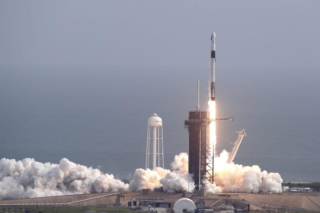 spacex test rocket