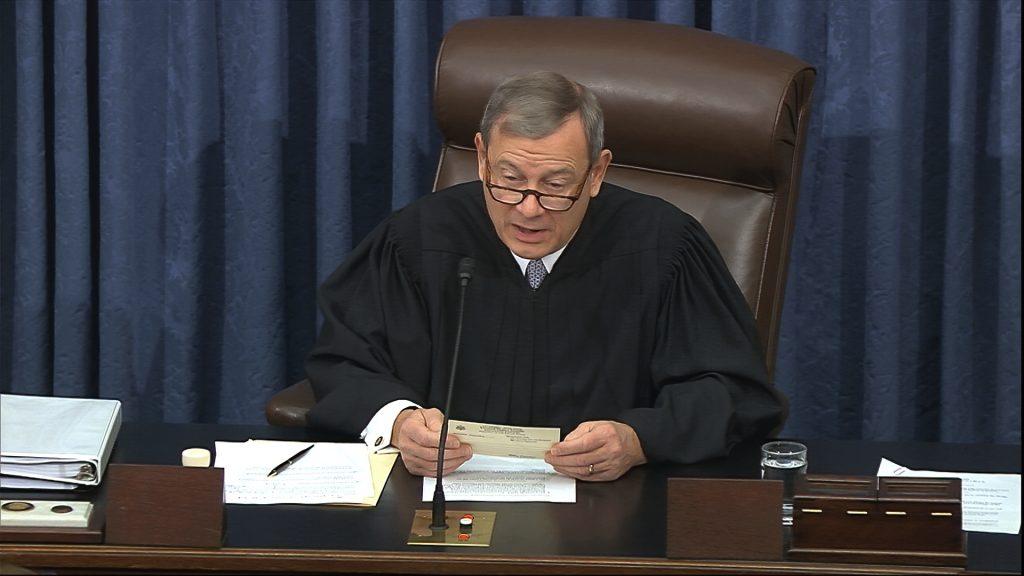 john roberts impeachment trial