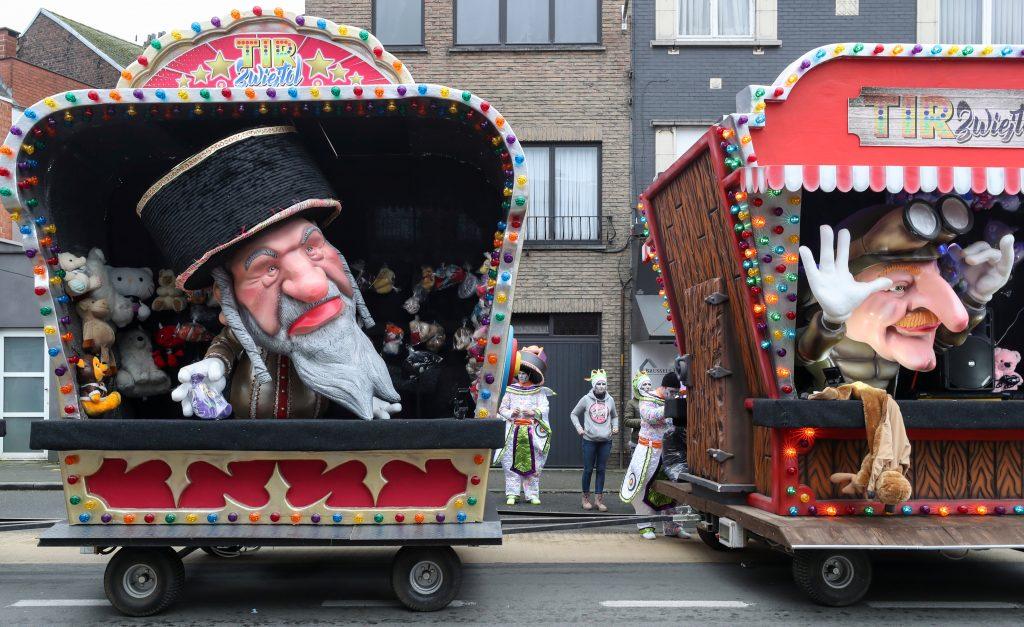 carnival belgium jews