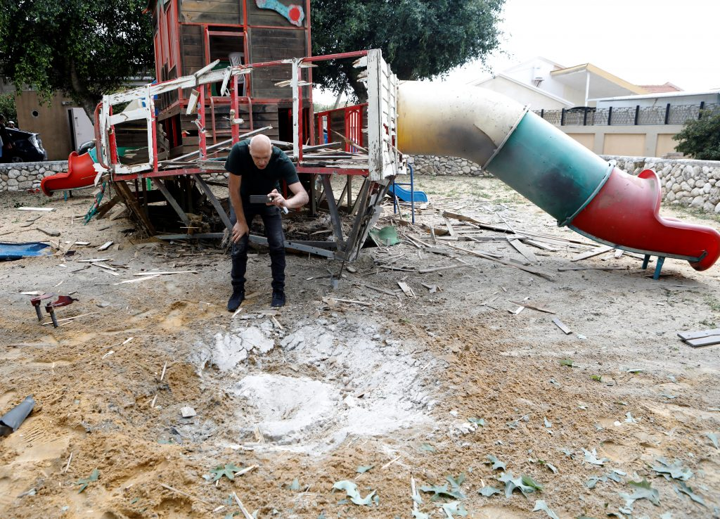 Yael Eckstein on Gaza's Terrorists Bombed a Playground