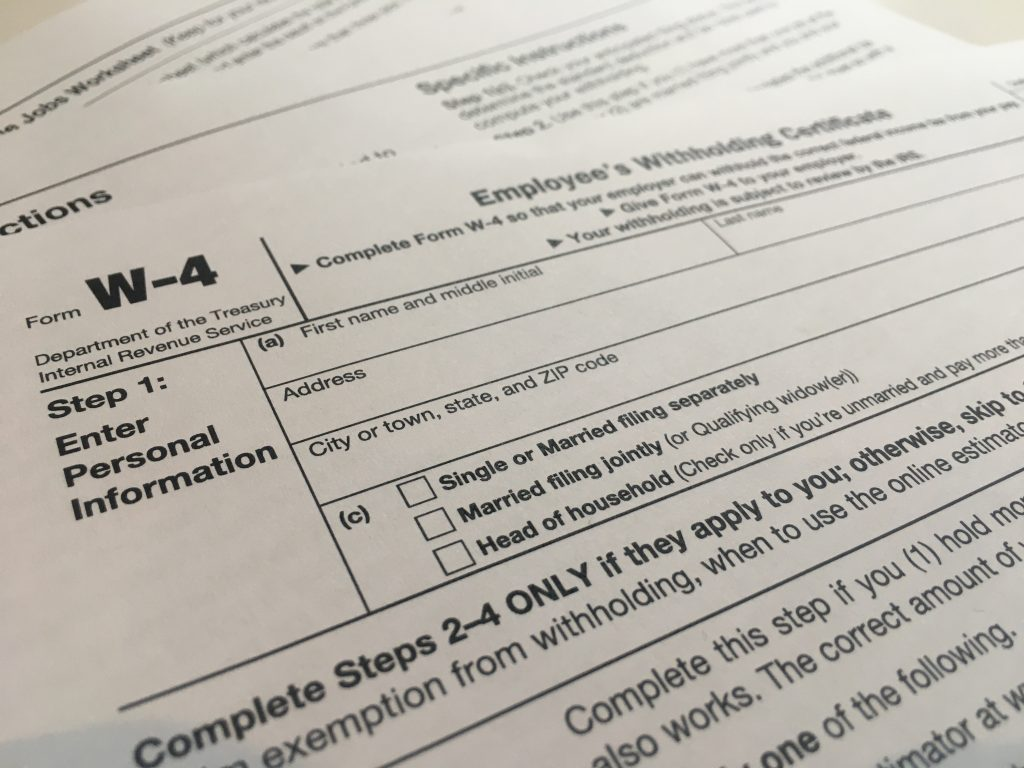 new w-4 form