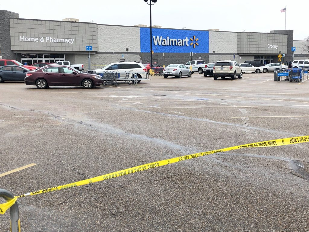 walmart arkansas shooting