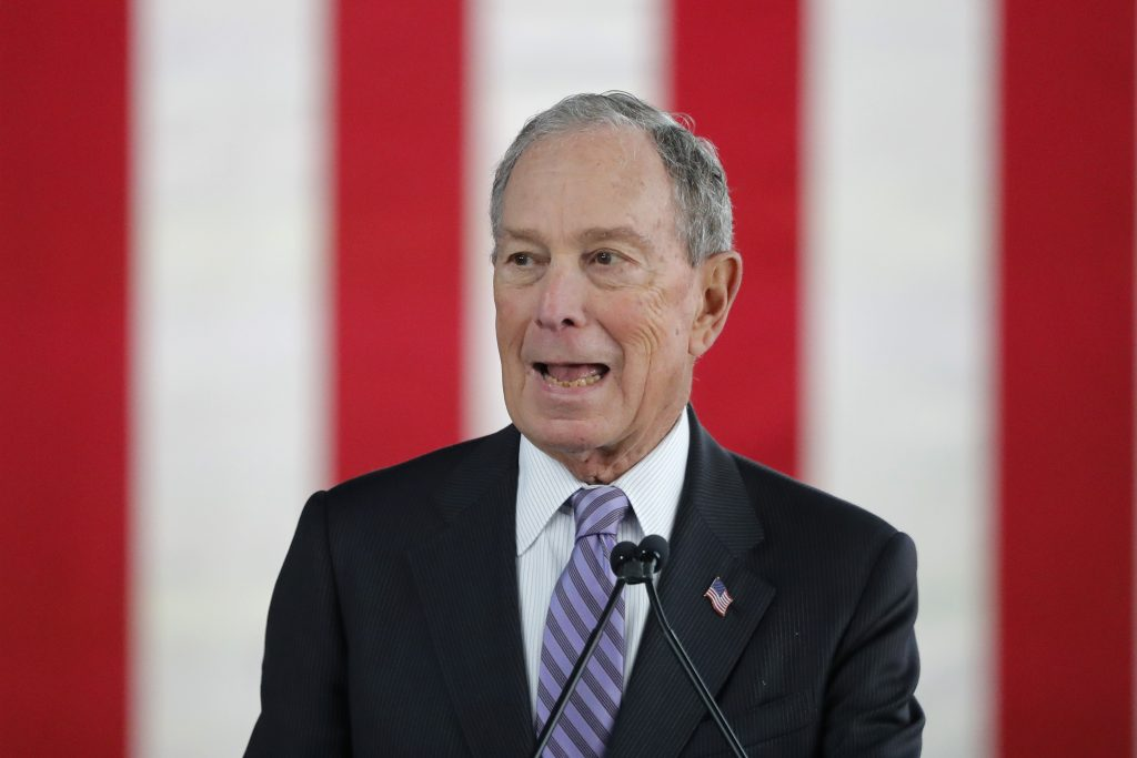 bloomberg campaign advertising