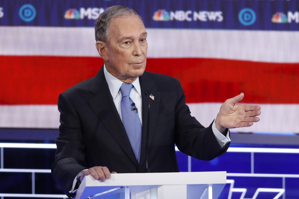bloomberg endorsements