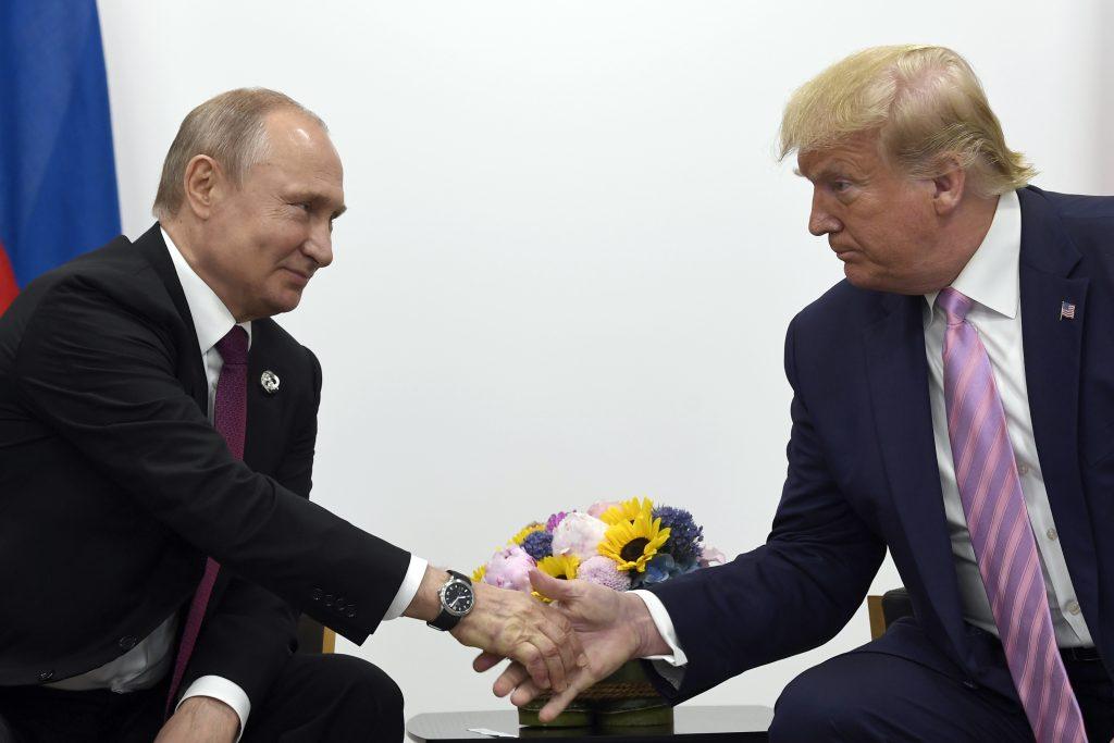 russia interfering election trump