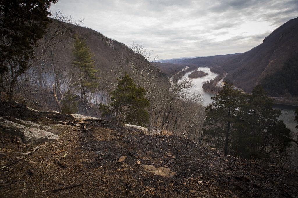delaware water gap fire