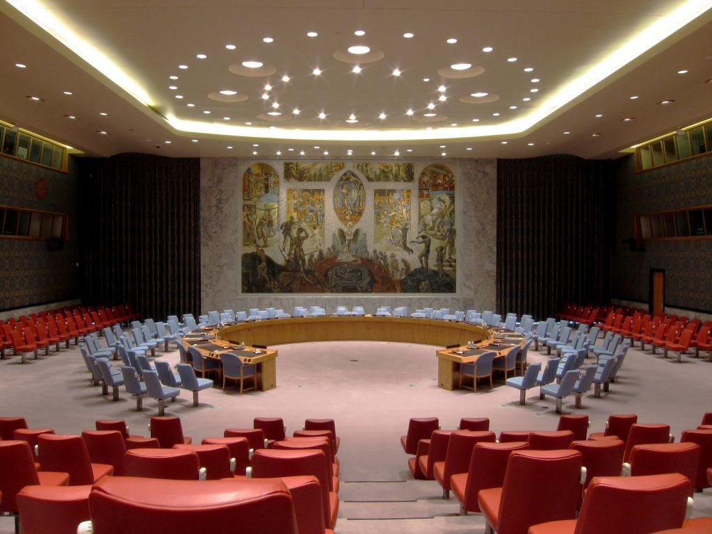 UN Security Council Chamber