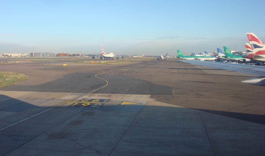 heathrow airport runway
