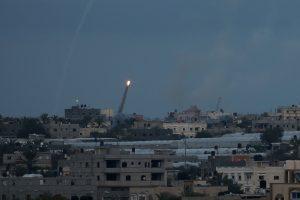 israel gaza rockets
