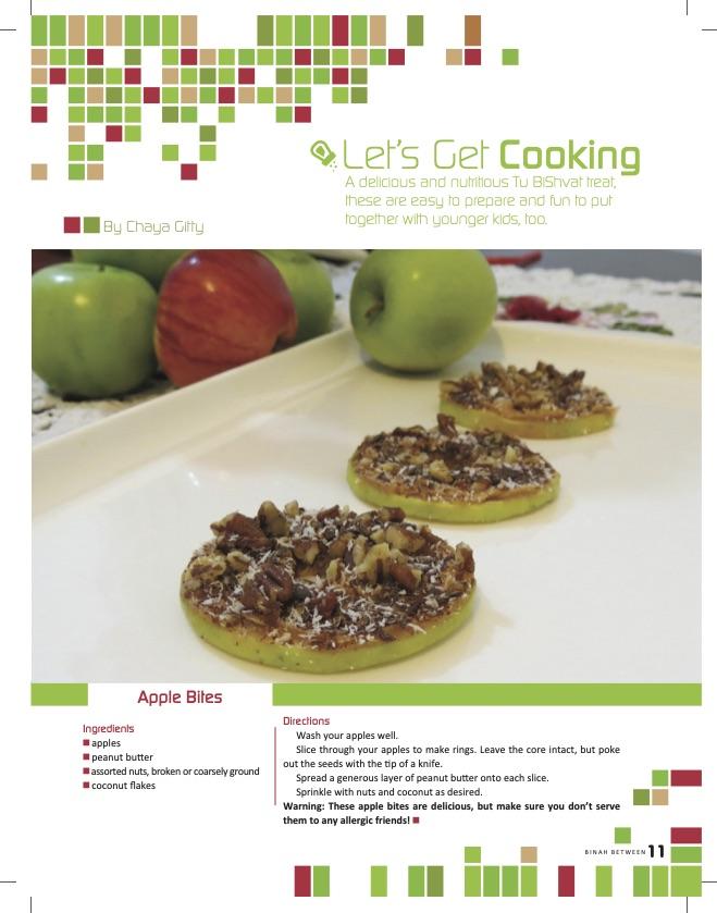 Let's Get Cooking: Apple Bites