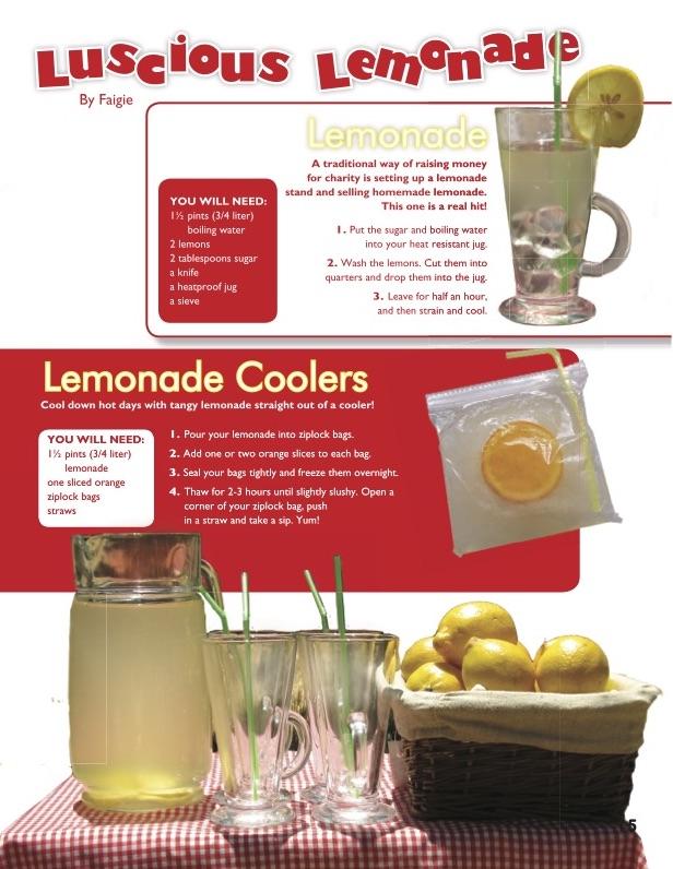 Hamodia Children Activities: Luscious Lemonade