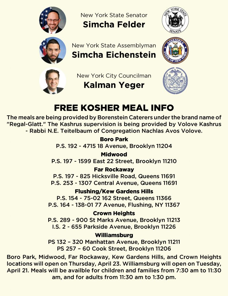 new york kosher meals