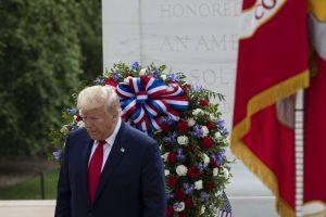 trump memorial day events
