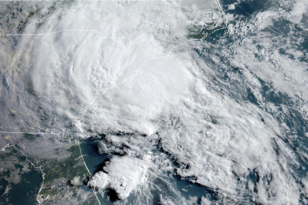 tropical storm bertha south carolina