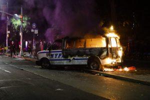 de blasio nypd protests