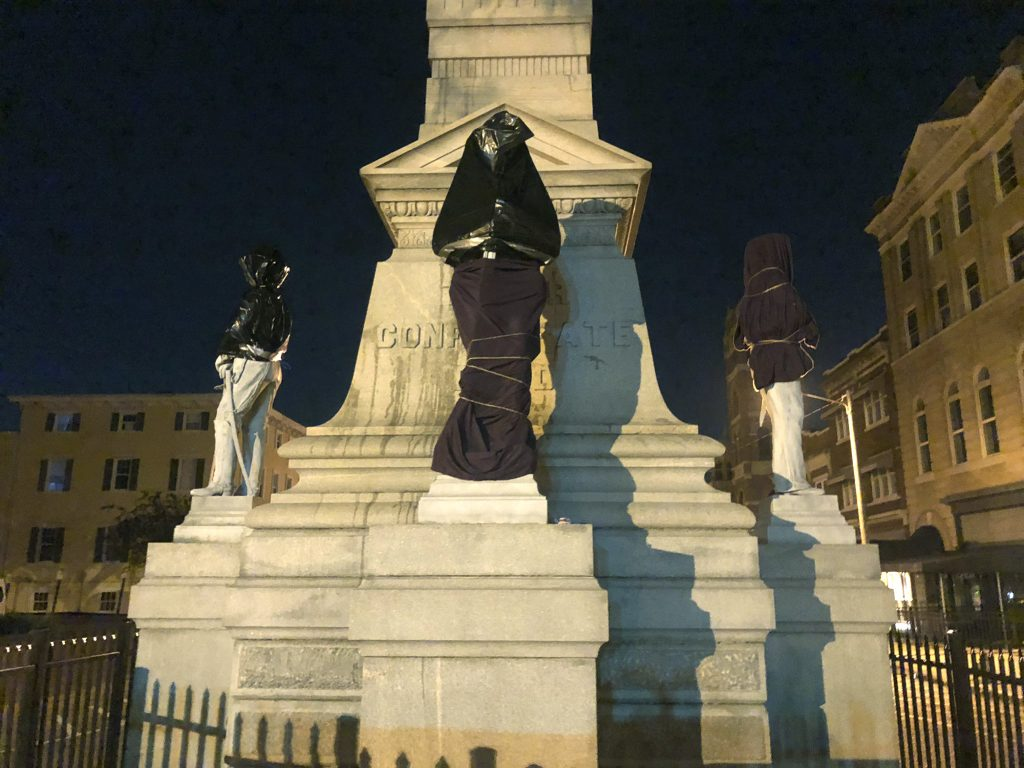 confederate monument portsmouth