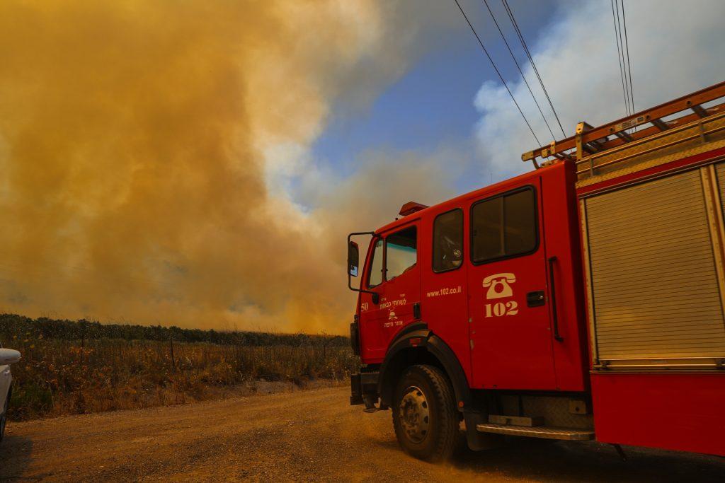 fire israel