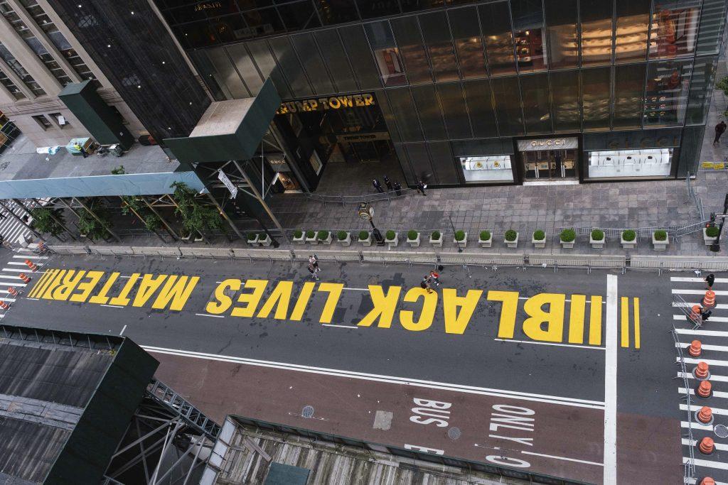 new york black lives matter lawsuit, de blasio black lives matter