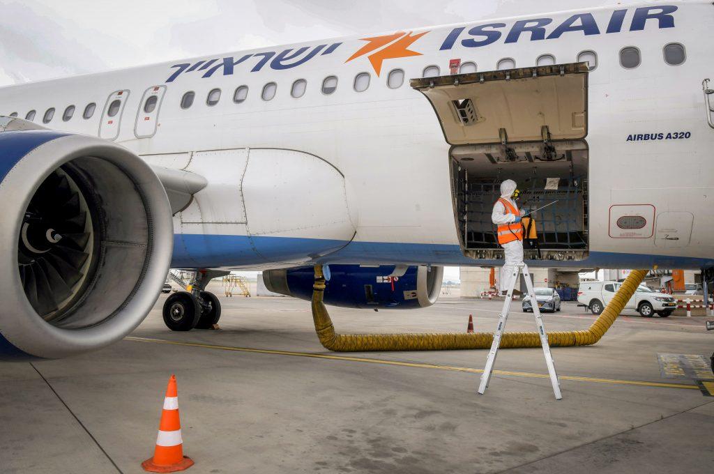 israel flights coronavirus