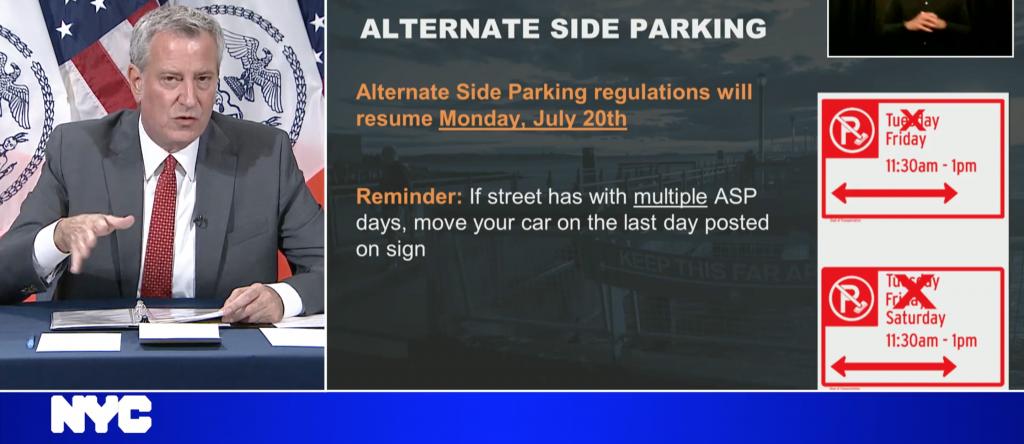 alternate side parking