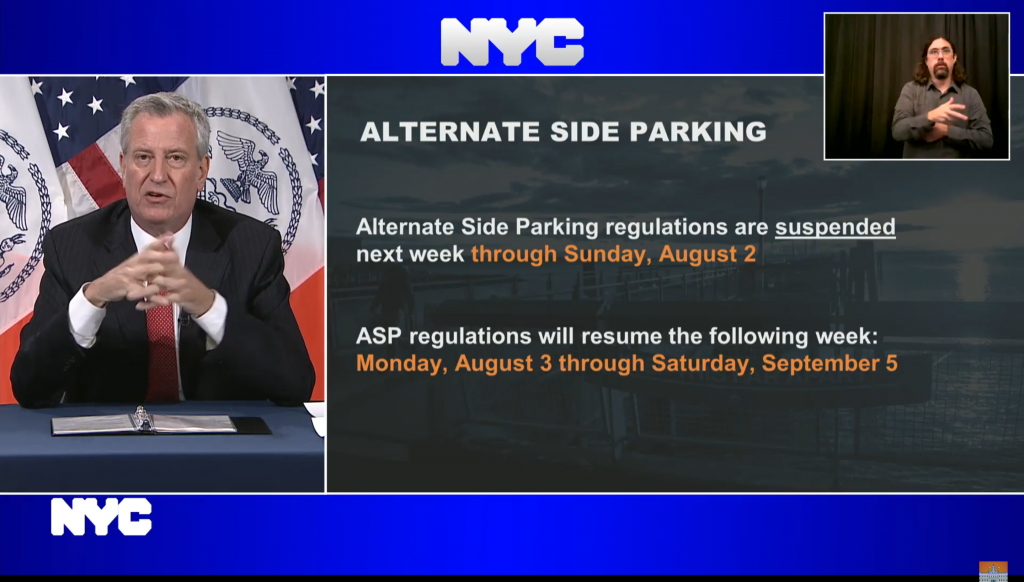 new york altrenate side parking